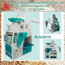 MLNJ20/15 portable complete rice milling machine