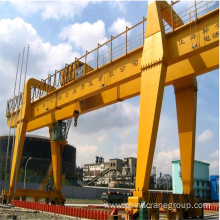 OEM/ODM for Electric Hoist Double Girder Crane General Purpose Double Girder Gantry Crane with trolley supply to United Arab Emirates Supplier