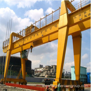 Super Lowest Price for Container Handling Crane General Purpose Double Girder Gantry Crane with trolley supply to Uruguay Wholesale