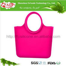 Kundenspezifische fördernde moderne O Beutel-Gummi-Beutel-Silikon-Einkaufstasche