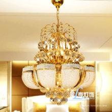 K9 Kristall Kronleuchter Beleuchtung Anhänger Hängelampen Leuchte Gold