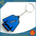 High Quality Promotional Fashion Design PVC T-Shirt Key Chain as Gift From China