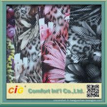nouvelles conceptions colorées en relief pvc en cuir malaisie pour des sacs à accrocher