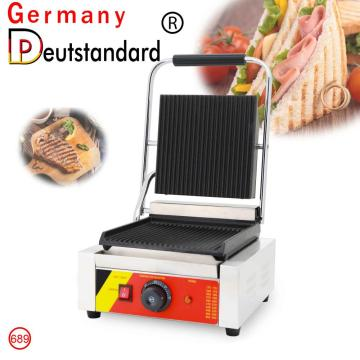 Commercial sandwich maker panini grill machine