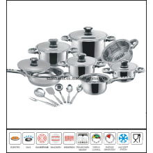 18PCS Stainless Steel Cooking Utensils Set Sc560