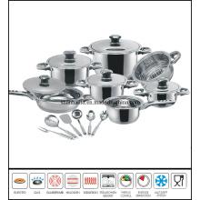 18PCS Stainless Steel Cooking Utensils Set