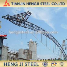 Tubo de acero galvanizado en caliente para la construcción (soldadura)