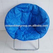 Adult Folding Round Camping Chair Moon Chair