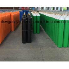 99,999% Sauerstoff / N2o Gas gefüllt in 40L Zylindern mit QF-2 Ventil