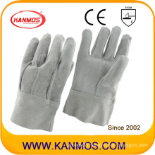Industrial Safety Full Cow Split Leather Work Gloves (11023)