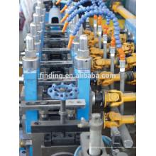 Hangzhou galvanizado tubo acero soldado con autógena de acero que hace la máquina