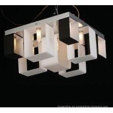Lámparas de techo de cristal de la sala moderna del nuevo estilo (MX7695-9WB)