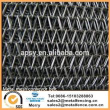 """11"""" Wide x 50' Feet Long 304 SS Stainless Steel Wire Mesh Conveyor Belt Belting"""