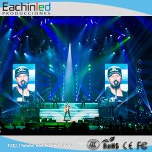 P3 Werbung Bildschirm kann durch Ihre Anforderungen indoor große flexible LED-Anzeige angepasst werden