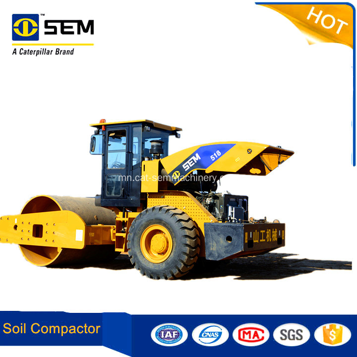 18 Tons 22Tons Construction Equipments New Road Roller