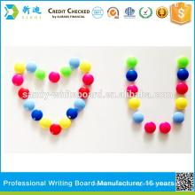Botão magnético plástico, ímã revestido plástico, botão magnético redondo, acessórios do whiteboard, 40mm