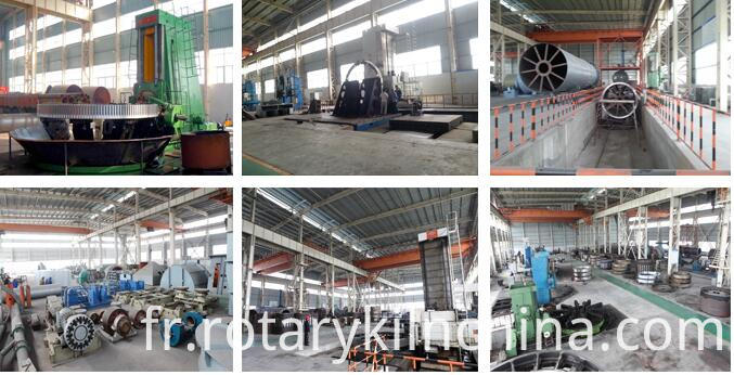 Workshop for the sand dryer series machine