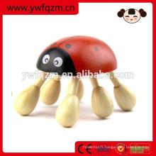 Masseur de tête en forme d'animal en bois