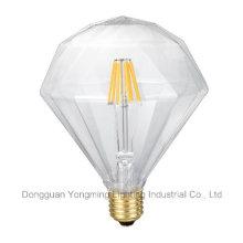 Bulbo liso do diamante do diodo emissor de luz da venda direta da fábrica 3.5W 5.5W 6.5W