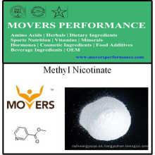 Suplemento nutricional Vitamina: Nicotinato de metilo
