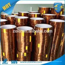 Película china xxx cinta adhesiva resistente al calor cinta adhesiva para cinta de poliimida de alta temperatura