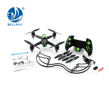 Highly Durable Tube Design 2.4 GHz 2 Speed Modes 6 Axis Gyro RC Quadcopter for Wholesales
