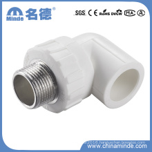 PPR Male Elbow Type a Fitting for Building Materials