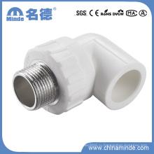 PPR Тип Мужской локоть штуцер для строительных материалов