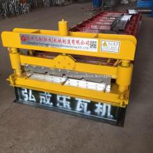 Painel do telhado do metal de Ibr rolo que forma a máquina