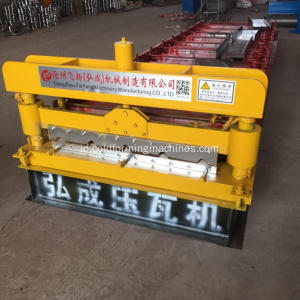 IBR Panel Atap Baja Lembaran Roll Forming Machine