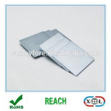 19x19x2mm цинка хромированный неодимовый магнит