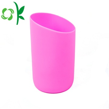 Isolerad Hot Sipper Glass Babyflaska Silikon SLeeve