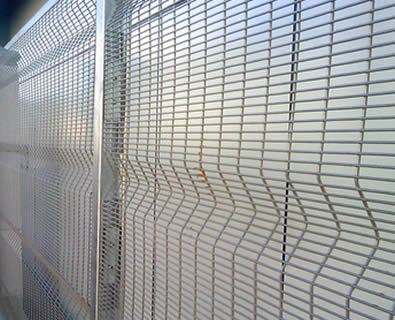 galvanized 3510 security fence