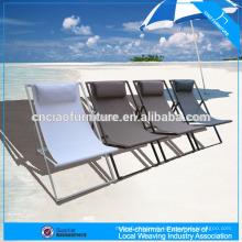 NOUVEAU Salon extérieur en aluminium de pliage de meubles de plage