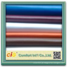 Tecido de vinil couro artificial para o carro ou a tampa do sofá