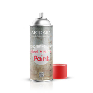 Renovar pintura en Spray de acero inoxidable