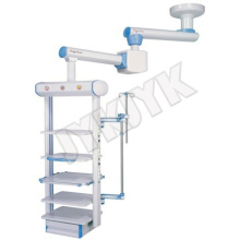 Medizinische Ausrüstung, Krankenhaus Doppel-Arm Electric Endoskop Anhänger