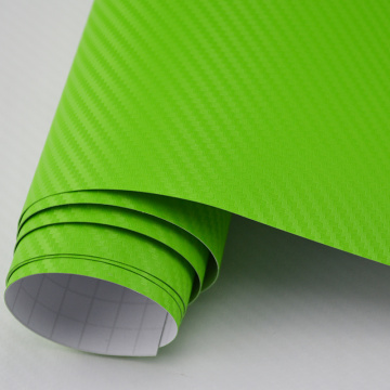 3D Carbon Car Wrap Vinyl Film - Bubble gratis