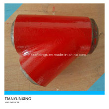 Tissu latéral en acier allié à balayage long avec peinture