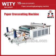 Máquina de corte transversal de papel en rollo