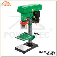 Perceuse à colonne électrique Powertec 500W 170 * 170mm (PT62002)
