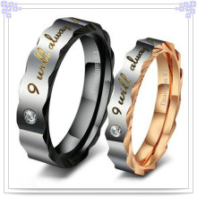 Accesorios de moda Anillo de joyería de acero inoxidable (SR535)