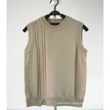 kids knit vest pattern child sleeveless sweater