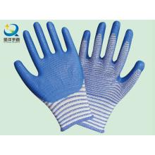 Natrile guantes de trabajo de seguridad recubiertos (N7006)