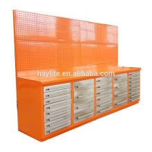 Gabinete de 30 cajones de almacenamiento de metal resistente pesado con tablero de clavija