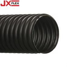 Schwarzer PVC-verstärkter Kunststoff-Saugschlauch