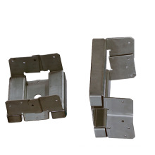OEM Metal Column Connection Base Aluminum Alloy Plate Stamping Parts Stamping