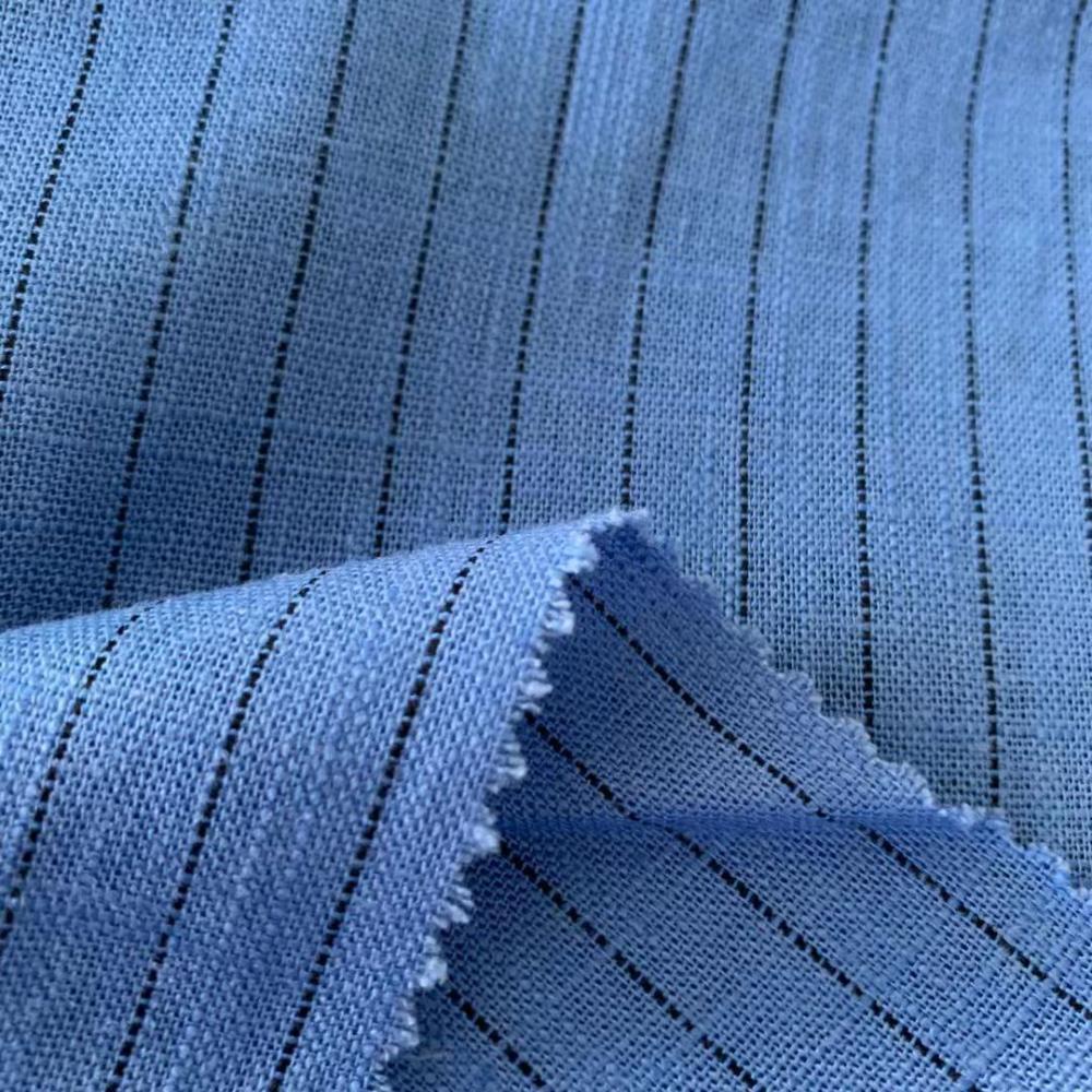 Soft Linen Rayon Yd Stripe