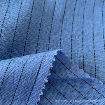 Linen Viscose Yarn Dyed Stripe