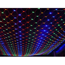 LED Net Light with RGB LED for Outdoor Use